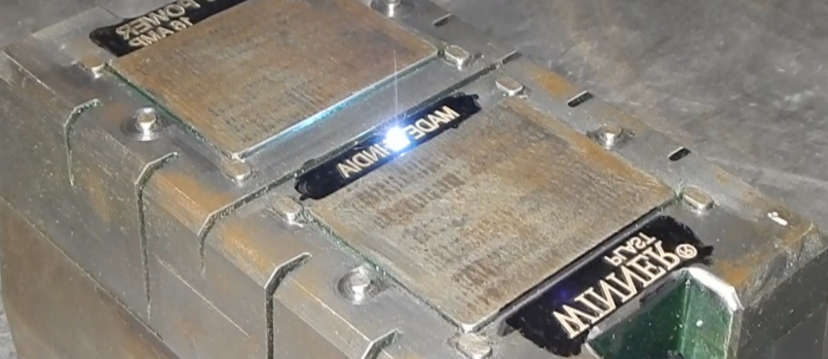Laser Engraving on Switch Board